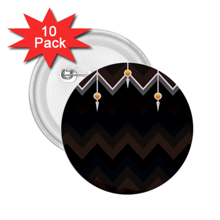 Background Pattern Non Seamless 2.25  Buttons (10 pack)