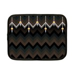 Background Pattern Non Seamless Netbook Case (Small) Front