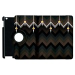 Background Pattern Non Seamless Apple iPad 3/4 Flip 360 Case Front