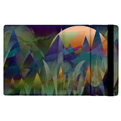 Mountains Abstract Mountain Range Apple Ipad Pro 12 9   Flip Case