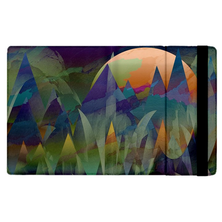 Mountains Abstract Mountain Range Apple iPad Pro 12.9   Flip Case