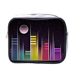 Illustrations Background Abstract Colors Mini Toiletries Bag (one Side)