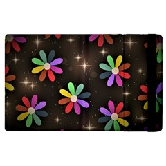 Illustrations Background Floral Flowers Apple Ipad Pro 9 7   Flip Case