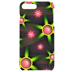 Non Seamless Pattern Background Iphone 7/8 Plus Black Uv Print Case