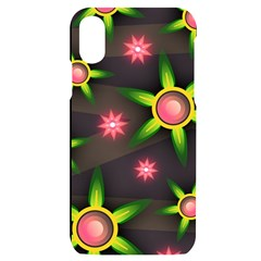 Non Seamless Pattern Background Iphone X/xs Black Uv Print Case