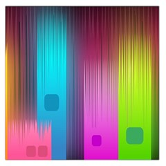 Abstract Background Colorful Large Satin Scarf (square)