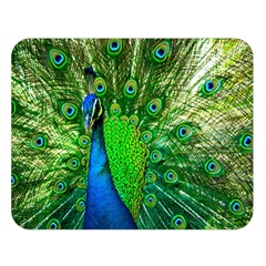 Peacock Peafowl Pattern Plumage Double Sided Flano Blanket (large)