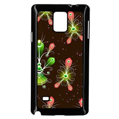 Background Non Seamless Pattern Samsung Galaxy Note 4 Case (black)