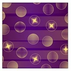 Background Purple Lines Decorative Large Satin Scarf (square)