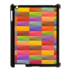 Abstract Background Geometric Apple Ipad 3/4 Case (black) by Mariart