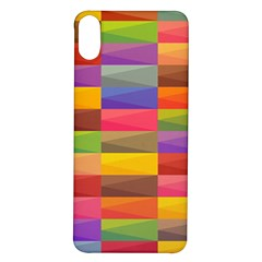 Abstract Background Geometric Iphone X/xs Soft Bumper Uv Case by Mariart