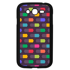 Background Colorful Geometric Samsung Galaxy Grand Duos I9082 Case (black) by HermanTelo