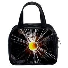 Abstract Exploding Design Classic Handbag (two Sides) by HermanTelo