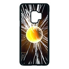 Abstract Exploding Design Samsung Galaxy S9 Seamless Case(black)