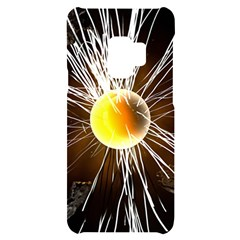 Abstract Exploding Design Samsung S9 Black Uv Print Case