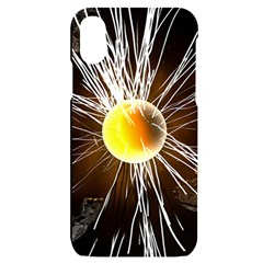 Abstract Exploding Design Iphone X/xs Black Uv Print Case