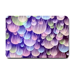 Abstract Background Circle Bubbles Space Small Doormat