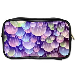Abstract Background Circle Bubbles Space Toiletries Bag (two Sides) by HermanTelo