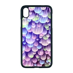 Abstract Background Circle Bubbles Space Iphone Xr Seamless Case (black)