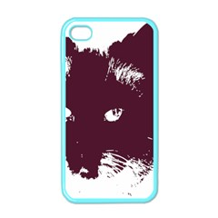 Cat Nature Design Animal Skin Pink Iphone 4 Case (color)