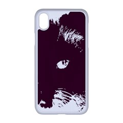 Cat Nature Design Animal Skin Pink Iphone Xr Seamless Case (white)