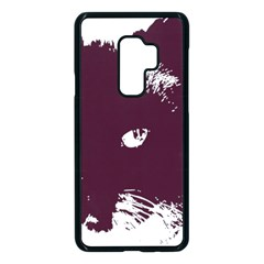 Cat Nature Design Animal Skin Pink Samsung Galaxy S9 Plus Seamless Case(black) by HermanTelo