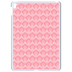 Damask Floral Design Seamless Apple Ipad Pro 9 7   White Seamless Case
