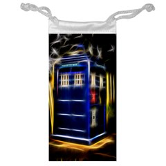 Famous Blue Police Box Jewelry Bag by HermanTelo