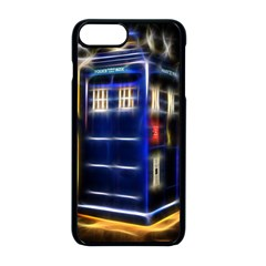 Famous Blue Police Box Iphone 8 Plus Seamless Case (black)