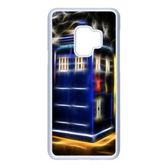 Famous Blue Police Box Samsung Galaxy S9 Seamless Case(white)