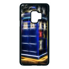 Famous Blue Police Box Samsung Galaxy S9 Seamless Case(black)