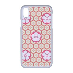 Floral Design Seamless Wallpaper Iphone Xr Seamless Case (white)