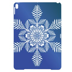 Flake Crystal Snow Winter Ice Apple Ipad Pro 10 5   Black Uv Print Case
