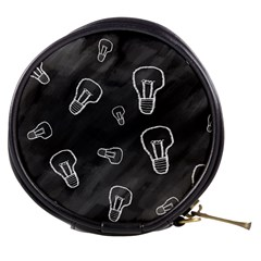 Many Lamps Background Mini Makeup Bag by HermanTelo