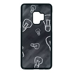 Many Lamps Background Samsung Galaxy S9 Seamless Case(black)