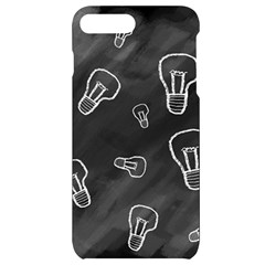 Many Lamps Background Iphone 7/8 Plus Black Uv Print Case