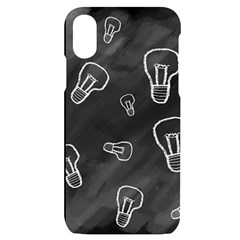 Many Lamps Background Iphone X/xs Black Uv Print Case