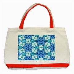 Pattern Abstract Wallpaper Classic Tote Bag (red) by HermanTelo