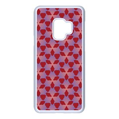 Pattern New Seamless Samsung Galaxy S9 Seamless Case(white)