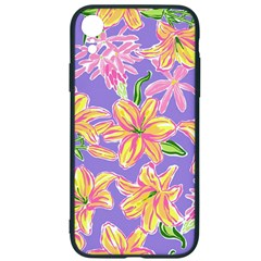 Preppy Floral Pattern Iphone Xr Soft Bumper Uv Case