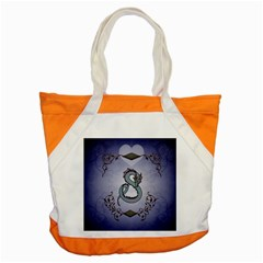 Wonderful Decorative Chinese Dragon Accent Tote Bag