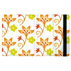 Pattern Floral Spring Map Gift Apple Ipad Pro 12 9   Flip Case by HermanTelo