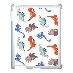 Pattern Dinosaurs Apple Ipad 3/4 Case (white) by HermanTelo