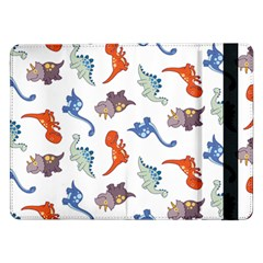 Pattern Dinosaurs Samsung Galaxy Tab Pro 12 2  Flip Case by HermanTelo