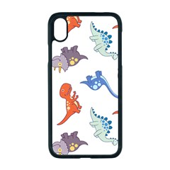 Pattern Dinosaurs Iphone Xr Seamless Case (black)