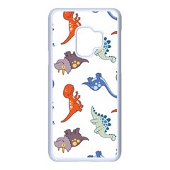 Pattern Dinosaurs Samsung Galaxy S9 Seamless Case(white)