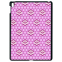 Paulownia Flowers Japanese Style Apple Ipad Pro 9 7   Black Seamless Case