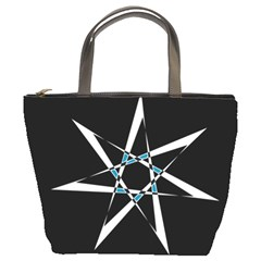 Star Sky Design Decor Bucket Bag