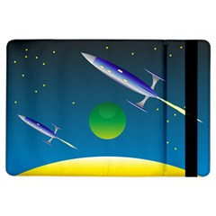 Rocket Spaceship Space Ipad Air Flip