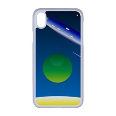 Rocket Spaceship Space Iphone Xr Seamless Case (white)